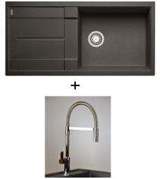 AKCIÓ! Blanco Metra XL 6 S + olasz zuhanyfejes Master csaptelep, 7 színben