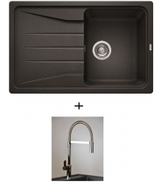 AKCIÓ! Blanco Sona 45 S + olasz zuhanyfejes Master csaptelep, 7 színben