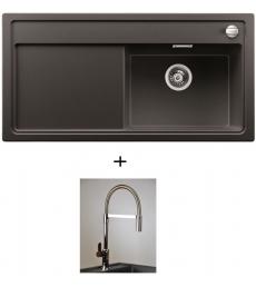 AKCIÓ! Blanco Zenar XL 6 S jobbos + olasz zuhanyfejes Master csaptelep, 7 színben