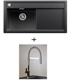 AKCIÓ! Blanco Zenar XL 6 S balos + olasz zuhanyfejes Master csaptelep, 7 színben