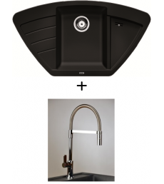 AKCIÓ! Blanco Zia 9 E + olasz zuhanyfejes Master csaptelep, 7 színben