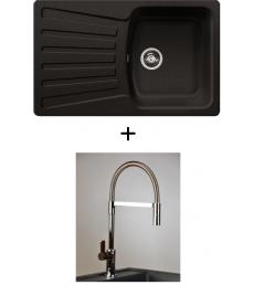 AKCIÓ! Blanco Nova 45 S + olasz zuhanyfejes Master csaptelep, 7 színben
