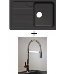 AKCIÓ! Schock Formhaus D-100S + olasz zuhanyfejes Master csaptelep, 3 színben