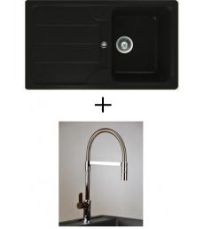 AKCIÓ! Schock Formhaus D-100 + olasz zuhanyfejes Master csaptelep, 3 színben