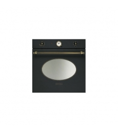 SM60: Smeg SFP805PO sütő, bézs/sárgaréz + Smeg PI764PO indukciós főzőlap, bézs/sárgaréz + Smeg SF4800MPO mikró, bézs