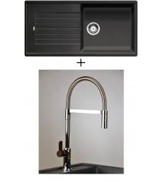 AKCIÓ! Blanco Zia XL 6 S + olasz zuhanyfejes Master csaptelep