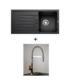 AKCIÓ! Blanco Favum 45 S + olasz zuhanyfejes Master csaptelep
