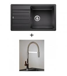 AKCIÓ! Blanco Legra XL 6 S + olasz zuhanyfejes Master csaptelep