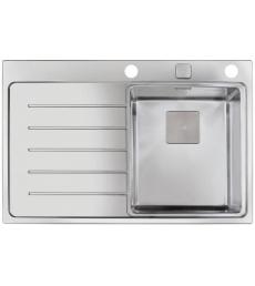Teka Zenit R15 1B 1D 78 jobbos fényezett, ajándék mosogatószer adagoló + lecsepegtetőtál + fa vágódeszka